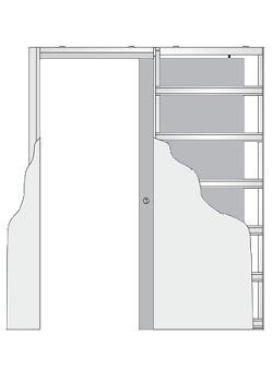 Дверной пенал Eclisse Syntesys Line
