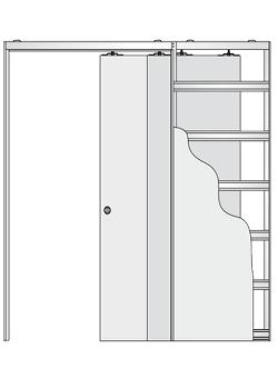 Дверной пенал Eclisse Telescopica