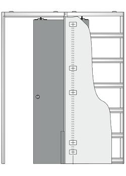 Дверной пенал Eclisse Luce Single