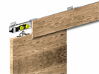 Комплект 3 креплений дерев. маск. планок к HERKULES - фото 5087