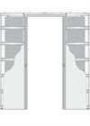 Дверной пенал Eclisse Syntesys Line Double - фото 8040